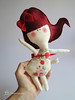 Lara (Cromanticamente) Tags: kids doll craft felt softie feltro bambole childfriendly kidsdecor bamboline humanfiguredoll