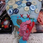 mutlicolored fabric heart thumbnail