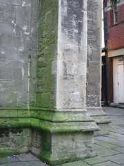 Temple Church, Bristol (pefkosmad) Tags: uk england church bristol wwii 1940 ruin leaning leaningtower bombed templechurch
