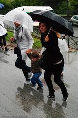 Rain... Umbrella... (Natali Antonovich) Tags: paris rain umbrellas