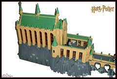 Lego HP module (=DoNe=) Tags: castle by viktor hall lego great harry potter grand done hogwarts legohpmodule