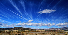 Wild Clouds (Dave Toussaint (www.photographersnature.com)) Tags: california ca travel blue sky usa cloud nature northerncalifornia photoshop canon landscape photo airport interesting october highway skies photographer cs2 picture sierra hwy explore adobe mammoth valley cumulus norcal eastern 395 easternsierras infocus 2011 polarize 60d topazlabs topazadjust topazdenoise photographersnaturecom davetoussaint