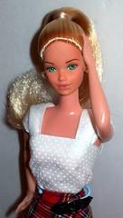Parisian Barbie Re-root (The Doll Cafe) Tags: barbie parisian steffie reroot dollsoftheworld