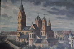 St.-Rochus-Kirche Dusseldorf 1915 (wim hoppenbrouwers) Tags: kirche dusseldorf 1915 booij strochuskirche gemailde