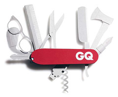 GQ Style pocketknife (paperform) Tags: sydney gq pocketknife papersculpture paperform benjaharney gqstylemagazine