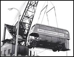 London transport RTL1486 30th August 1957. (Ledlon89) Tags: bus london finland tour transport leyland rtl rtbus alltypesoftransport