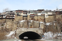 Veliko Tarnovo - Bulgaria (Been Around) Tags: street bridge winter europa europe travellers eu tunnel bulgaria brcke 2012 velikotarnovo bul bulgarien velikoturnovo strase  velikotrnovo concordians thisphotorocks  worldtrekker expressyourselfaward flickrunitedaward welikotarnowo