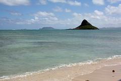 Chinaman's Hat, Kualoa Regional Park, Oahu Hawaii (marydenise6) Tags: ocean park sea beach hat island hawaii sand oahu kualoa chinamanshat chinamans kualoaregionalpark