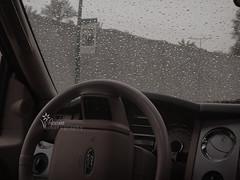 Rain ♥,♥ (Reem.S.Q) Tags: car rain sony reem سيارة ريم الرياض مطر جميل جو قطرة قطرات زجاج أمطار سوني الدرعية رش
