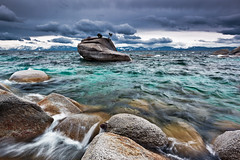Here Comes the Storm, Lake Tahoe (Jared Ropelato) Tags: california sunset wild storm west art nature beauty landscape unitedstates pacific outdoor nevada vacaville tahoe conservation environmental laketahoe bonsai pacificnorthwest environment wilderness 2012 kingsbeach pnc conserve ropelato bonsairock jaredropelato ropelatophotography