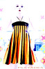 falda plato (pléyades-ropa tejida) Tags: color thread dress skirt cotton seda ropa vestido falda algodon tejida pleyades
