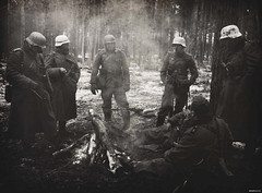 Grossdeutschland Aufklrungs 'Lapkovo 1942' (Herr Henke) Tags: soldier wwii german ww2 stick 1942 grenade reenactment 1941 worldwar2 1943 panzer ukriane germanarmy ostfront k98 mg34 mp40 mg43 grossdeutschland aufklrungs gdrecon russainfront aufklarungs