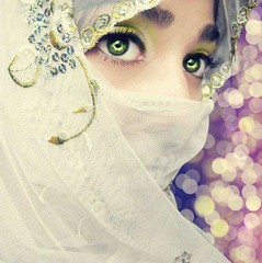 Beauty of a Muslimah (Way farer) Tags: love beautiful face veil sister muslim islam hijab muslimah modesty niqab faceveil allah haya muhammed jilbab flowerofislam motherofallbelievers