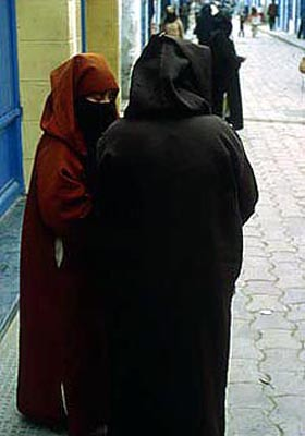 Women Wearing Niqabs