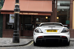 Upgraded. (Alex Penfold) Tags: auto camera white slr london cars alex sports car sport mobile canon photography eos mercedes photo cool flickr shot image awesome flash rear picture super spot exotic photograph mclaren spotted hyper edition mayfair supercar spotting exotica sportscar 2012 sportscars supercars merc penfold spotter gwe hypercar 60d hypercars alexpenfold mv55gwe mv55