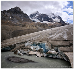 Athabasca Blues (Panorama Paul) Tags: alberta banffnationalpark columbiaicefield canadianrockies athabascaglacier nohdr sigmalenses nikfilters vertorama nikond300 wwwpaulbruinscoza paulbruinsphotography