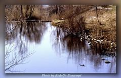 Lungo fiume sull'acqua (Rodolfo Bontempi photos (800.000 views)) Tags: film analog landscape photography nikon flickr fotografia tamron rodolfo analogica 70300 pellicola bontempi