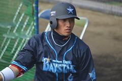 DSC_0844 (mechiko) Tags: 横浜ベイスターズ 120212 松本啓二朗 横浜denaベイスターズ 2012春季キャンプ