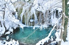 Krushuna waterfalls (.:: Maya ::.) Tags: winter lake snow nature water river waterfall bulgaria     krushuna      mayaeye mayakarkalicheva