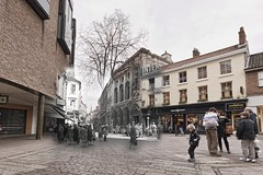 London Street 1943 > 2012 (Nick J Stone) Tags: war group norwich ww2 1942 bomb blitz 1943 348 usaaf nickstone johnfunk blitzghost lewfunk usaafghost