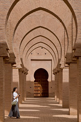 Tin Mal Mosque (Daveybot) Tags: travel red vacation brown holiday brick architecture honeymoon mosque morocco earthy maroc alison blipem tinmal almohad tinmel tinmalmosque almohads