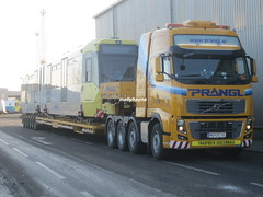 HEAVY HAULAGE & ABNORMAL LOAD ESCORTING (mallyhayne) Tags: manchester volvo tram convoi