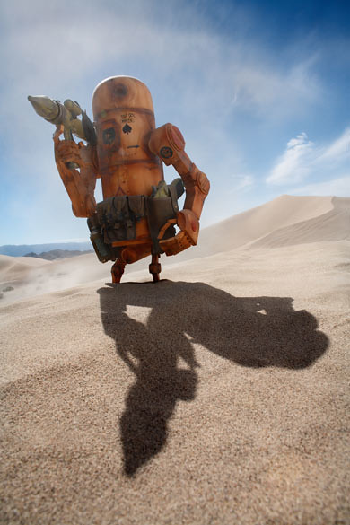 Brian McCarty有趣的玩具攝影作品