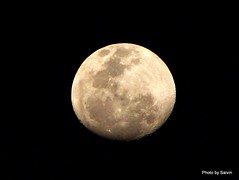 Mega Moon..! (saivin) Tags: sky blackandwhite moon zoom space fullmoon planets spaceobjects