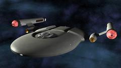 Valhalla7 (axeman3d) Tags: trek star ship space engine craft warp destroyer valhalla cruiser nacelle