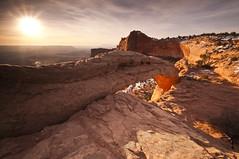 Mesa Arch_DSC2968 (antelope reflection) Tags: reflection colors sunrise utah nationalpark canyonlands redrock nikond90