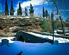 The bridge over the Ribnica