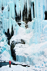 Ice Fall (James Neeley) Tags: banff banffnationalpark icefall johnstoncanyon jamesneeley flickr24