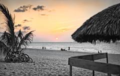 Sunset - Varadero beach (hoan luong) Tags: old sunset car bike sunrise vintage children fishing nikon cuba tokina moto motorcycle varadero sidecar barlovento 1116 velocia d7000
