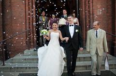 młoda para płatki róż_31 (hand made photo) Tags: kościół róż żyrardów płatki