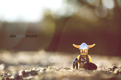 Il Vichingo Perduto (Alex-Takes-Photos) Tags: light macro canon eos colorado lego natural denver 60mm viking f28 60d