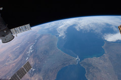 Morocco and Spain (NASA, International Space Station, 12/31/11) (NASA's Marshall Space Flight Center) Tags: spain nasa morocco atlanticocean mediterraneansea internationalspacestation straitsofgibraltar alboransea stationscience crewearthobservation stationresearch algecirasharbor