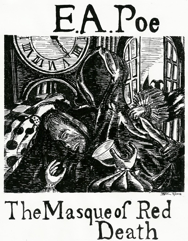 'The Masque of the Red Death,' by Edgar Allan Poe