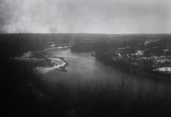 Nistru river (TheVeraMart) Tags: bw snow river landscape moldova