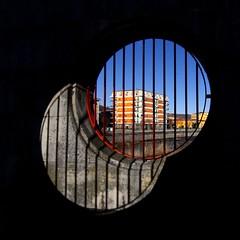 Dissociazione (meghimeg) Tags: bridge shadow sun square aperture open ombra ponte explore sole 2012 quadrata cairomontenotte