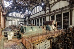 Turbine Hall (jrej www.gregoirec.com) Tags: plant abandoned industry station hall industrial power pentax powerplant coal dri turbine k5 urbex coalfired sigma1020mmf456exdc