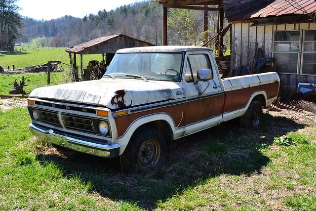 ford truck ranger pickup 1977 f250