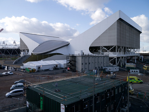 Aquatics Centre, Olympic Park, London