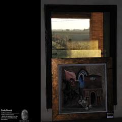paesaggio alla finestra (paolo.benetti) Tags: nikon italia quadro finestra ferrara paesaggio d300 estensi voghiera belriguardo absolutegoldenmasterpiece deliziaestensedibelriguardo truthandillusion