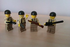 US Infantry #1 (The Desert Rat) Tags: army us lego wwii brickarms