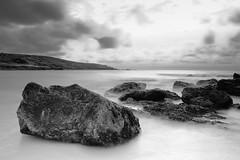 rocks (joey lamb) Tags: longexposure sea white black beach water clouds nikon cornwall smooth tokina explore excellent 20 35 stives longshutter porthmeor d7000