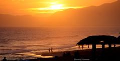 Sunset at Barra da Tijuca, Rio de Janeiro (Pierrick M) Tags: ocean sunset brazil praia beach brasil riodejaneiro dusk atlantic prdosol barradatijuca crpuscule plage oceano brsil atlantique atlntico lgp3 carnaval2012
