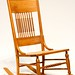 85. Antique Oak Rocker