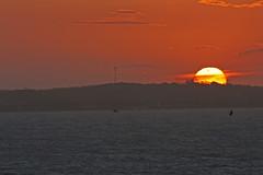 Pr-do-sol (quanaval_sp) Tags: sunset sea brazil brasil boat mar ship rj vessel prdosol bzios navio imperatriz