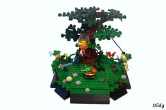 Trap (FilipS) Tags: castle lego prank vignette trap moc vig diidy forestmans