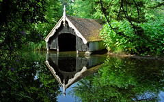 Scotney Castle Landscape Gardens, Kent, England | View of old boathouse reflected in lake (3 of 16) (ukgardenphotos) Tags: uk wallpaper england reflection castle english gardens reflections garden geotagged kent ruins azaleas calendar screensaver reflected f80 boathouse moat nationaltrust picturesque tranquil provia100f scotney rhododendrons nationaltrustgardens oldcastle castleruins moatedcastle scotneycastle historicgarden castlegardens ruinedcastle picturepostcard lamberhurst wetreflections landscapegardens lakereflections medievalcastle scotneycastlegardens colorfulreflections oldboathouse englishcastle romanticruins awesomecolors romanticgarden lakesidereflections geo:country=england quarrygardens bestcastle geo:city=tunbridge geo:zip=tn38jn geo:lat=51091062 geo:lon=0410268